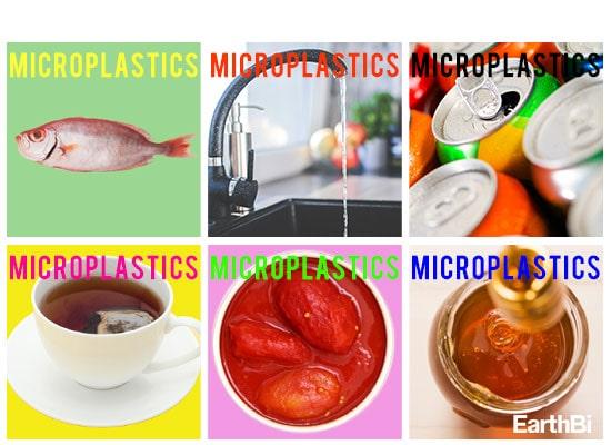 microplastic food drink
