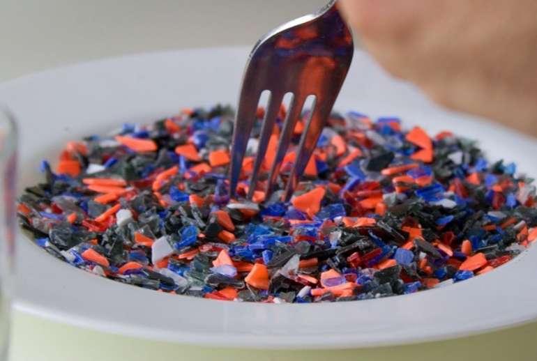 microplastic in food