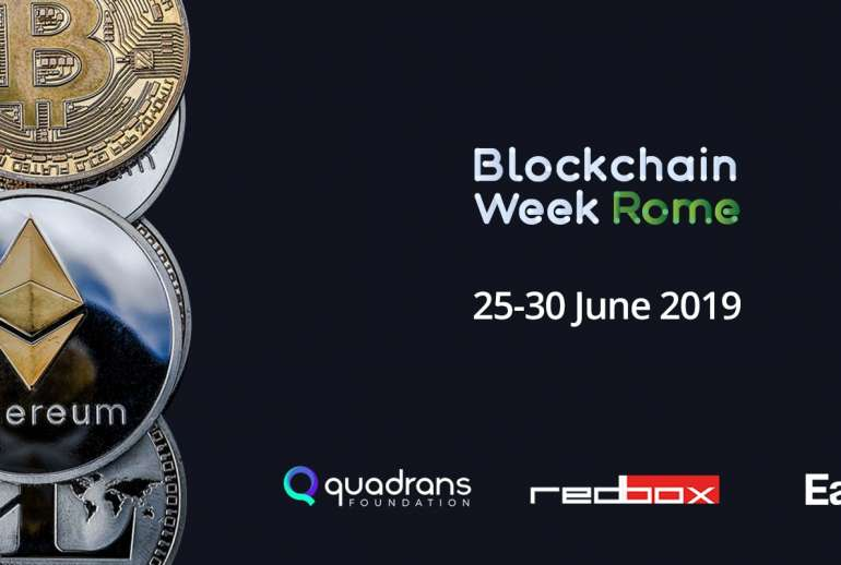 earthbi blockchain week rome