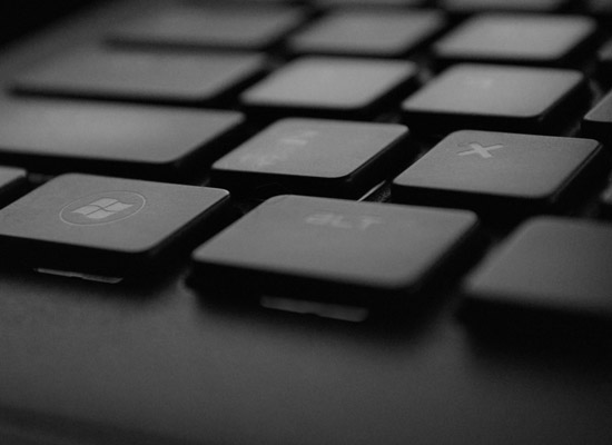 keyboard elements bioplastic