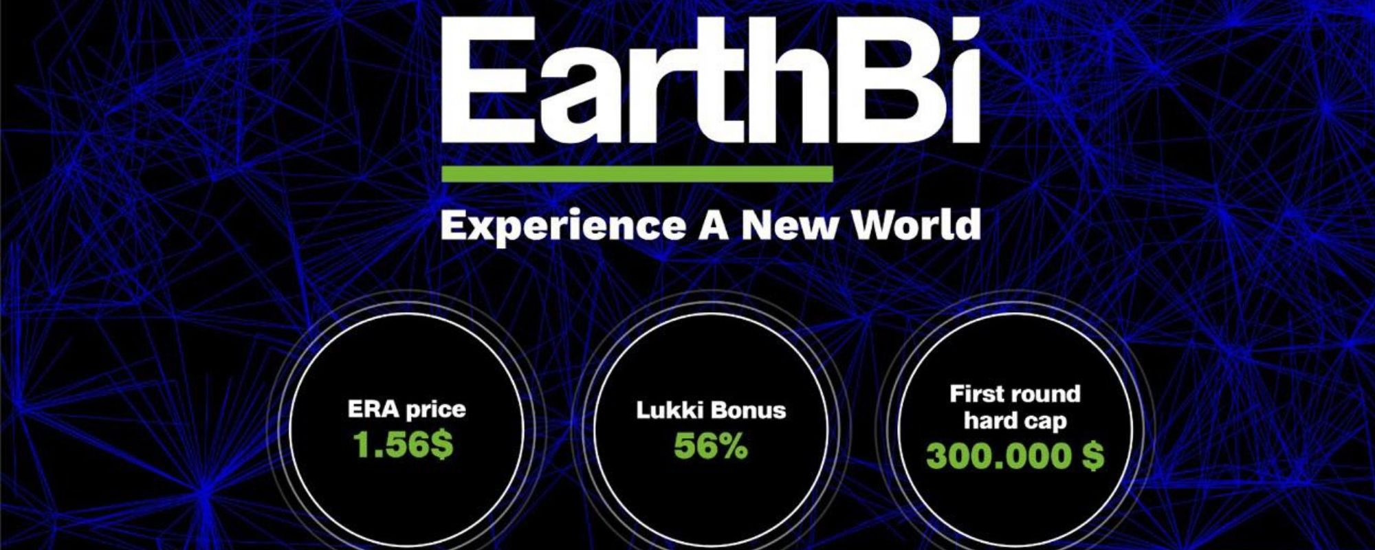 Today EarthBi (ERA) IEO has officially started on Lukki Exchange