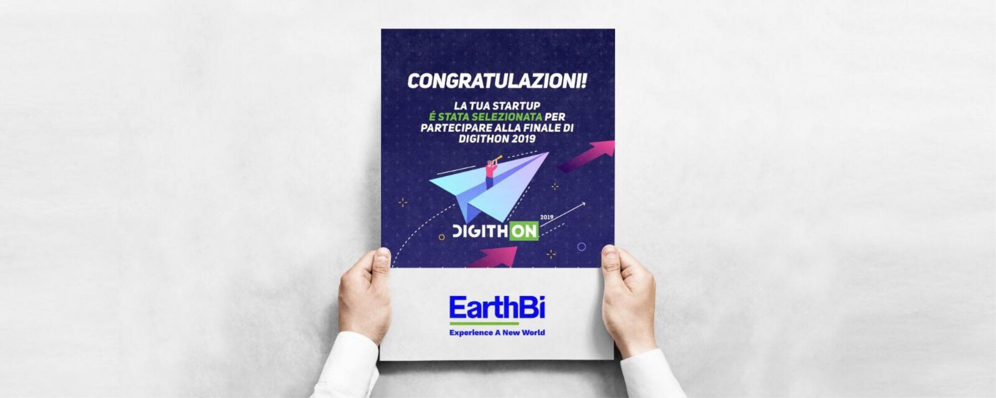 EarthBi finalist at DigithOn: the largest Italian digital marathon