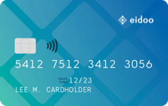 Eidoo Card Teal
