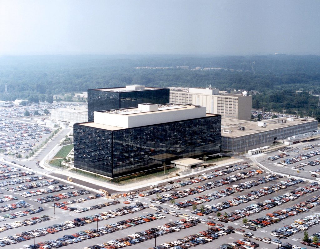 Il quartiere generale dell'NSA a Fort Meade, Maryland