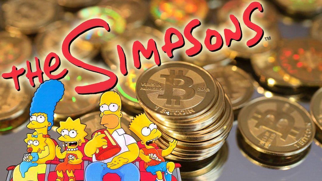 Gli eroi di Marvel e Simpson ora usano bitcoin