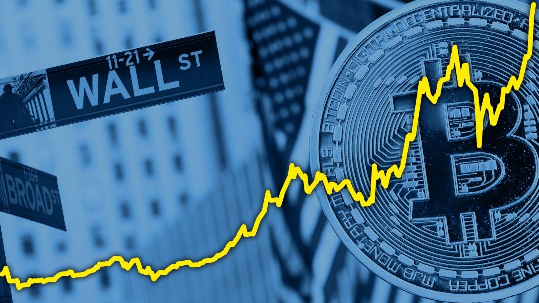 Wall Street scalda i motori sul trading di criptovalute
