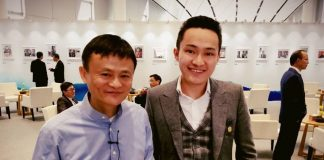 alibaba tron partnership