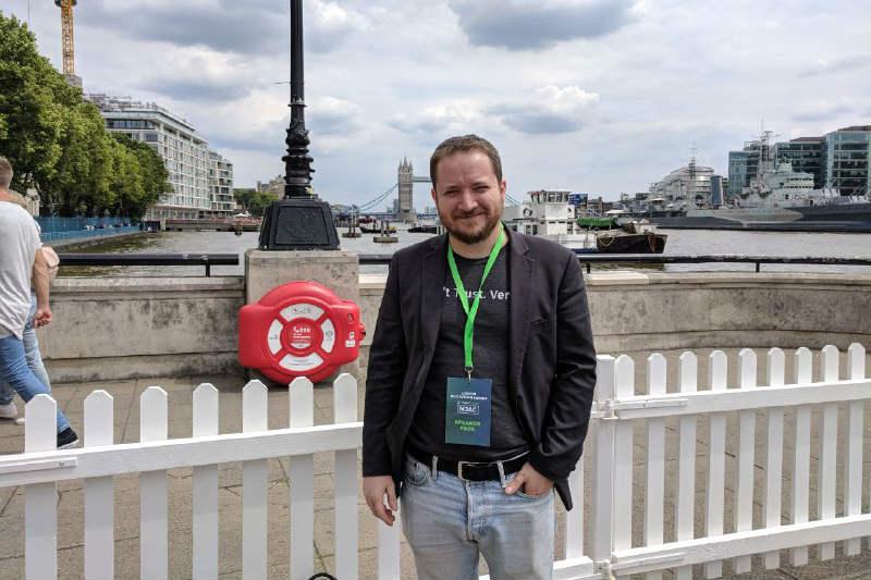In diretta dall'evento MJAC Cryptocompare di Londra