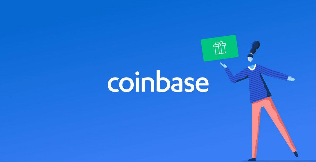 Con Coinbase il token diventa gift card