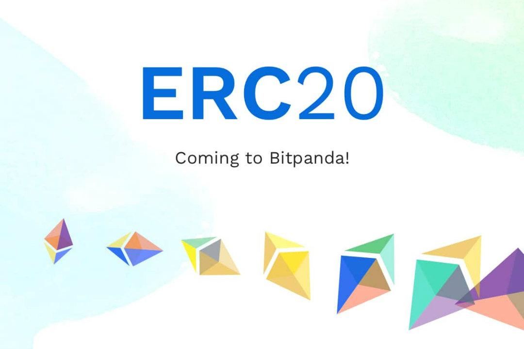 Bitpanda aggiunge i token ERC20