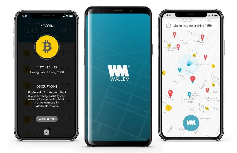 Cattura le crypto con Wallem. A Ibiza e Milano