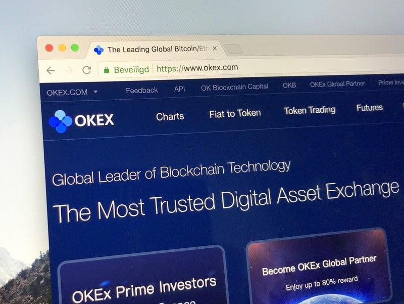 okex cryptocurrency exchange 2021