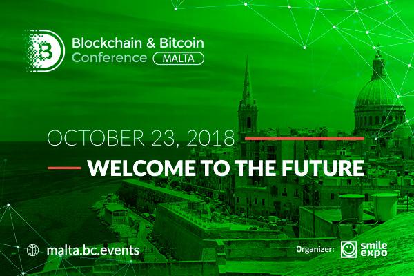Blockchain & Bitcoin Conference si terrà a Malta