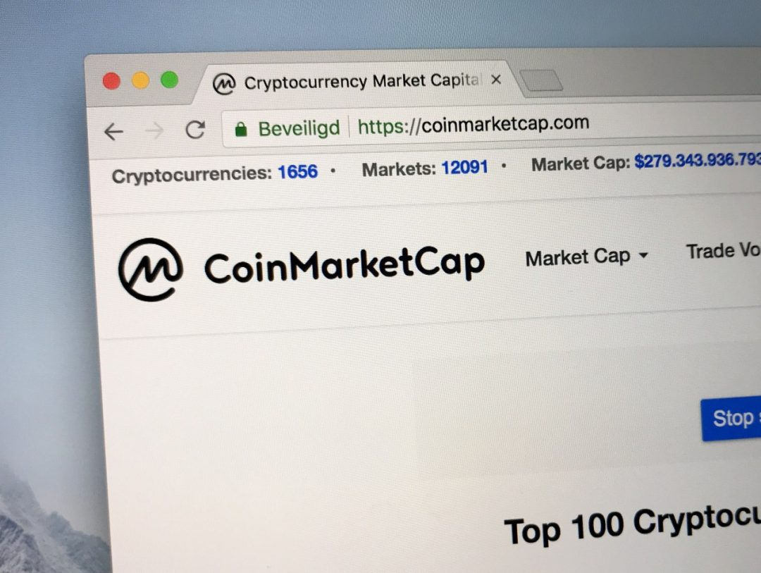 """Coinmarketcap: """"Abbiamo iniziato a seguire i mercati OTC"""""""