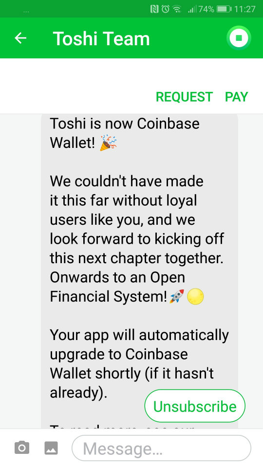 Toshi Wallet
