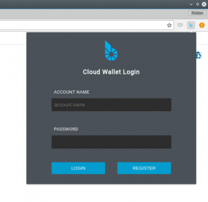 Bitshares browser plugin