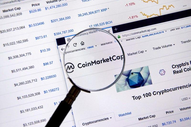 Coinmarkertcap certifica: i Token al record di quota 1800