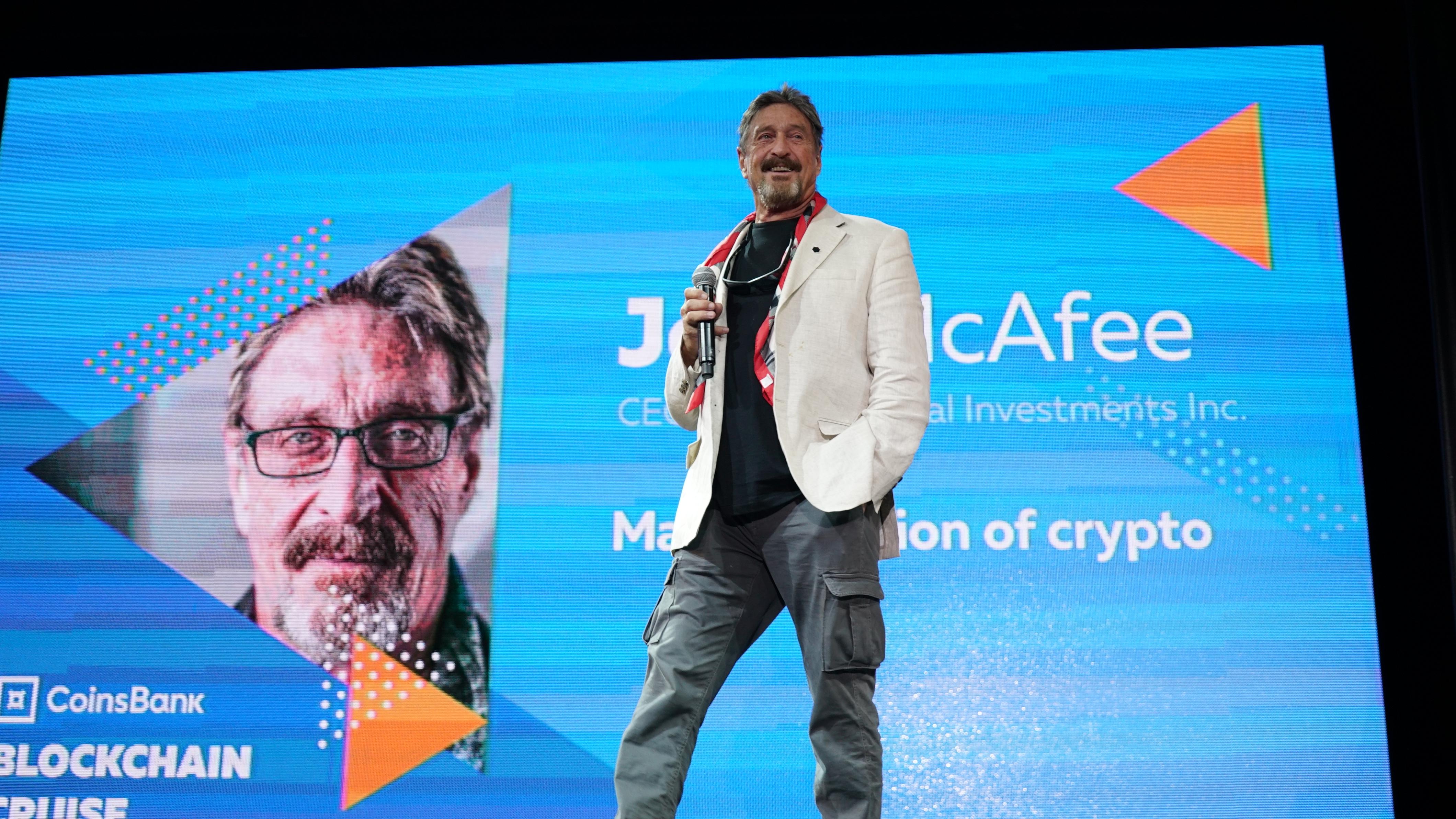 Blockchain Cruise: le foto dell'evento con McAfee, Ver & Co