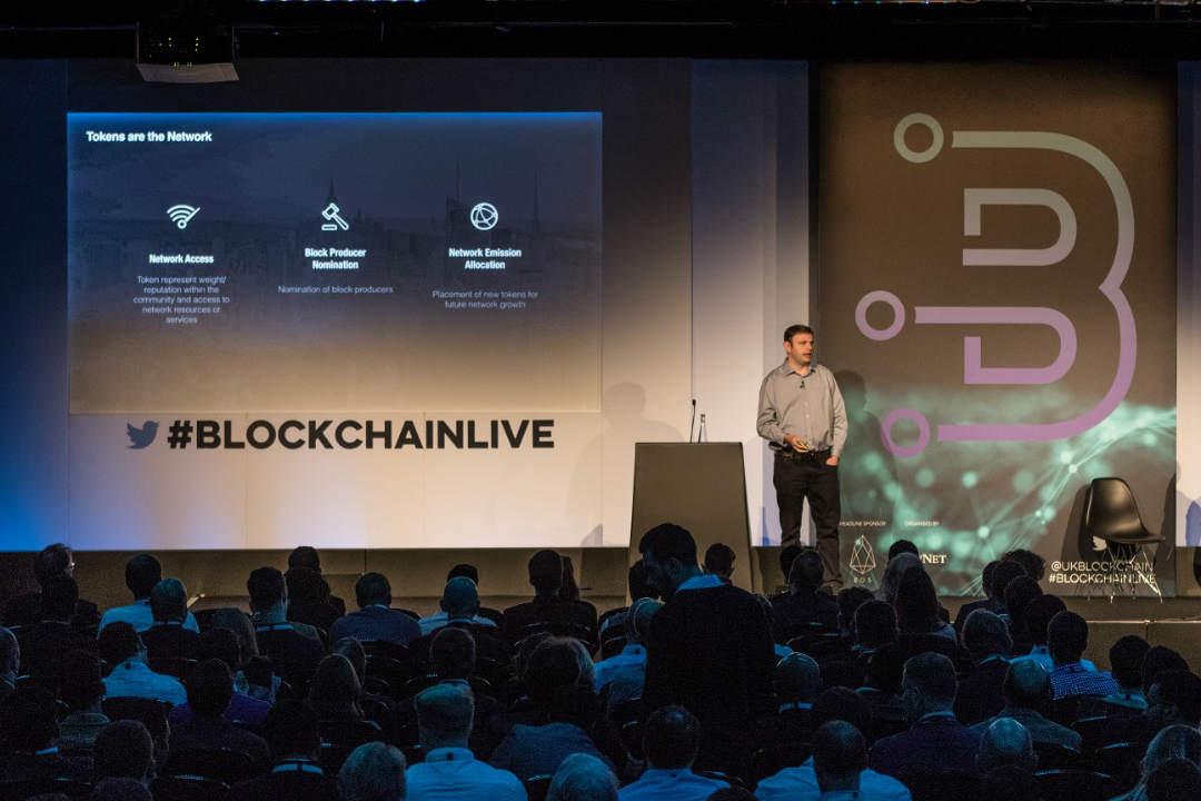 EOSfinex, la presentazione ufficiale al Blockchain Live di Londra