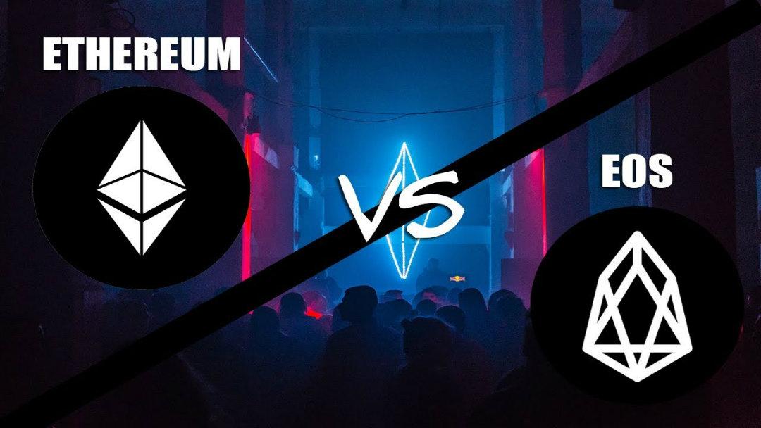Ethereum vs EOS, il cambiamento di rotta delle DApp