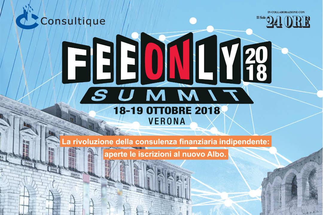 Fee Only Summit 2018, la Rivoluzione della Consulenza Finanziaria
