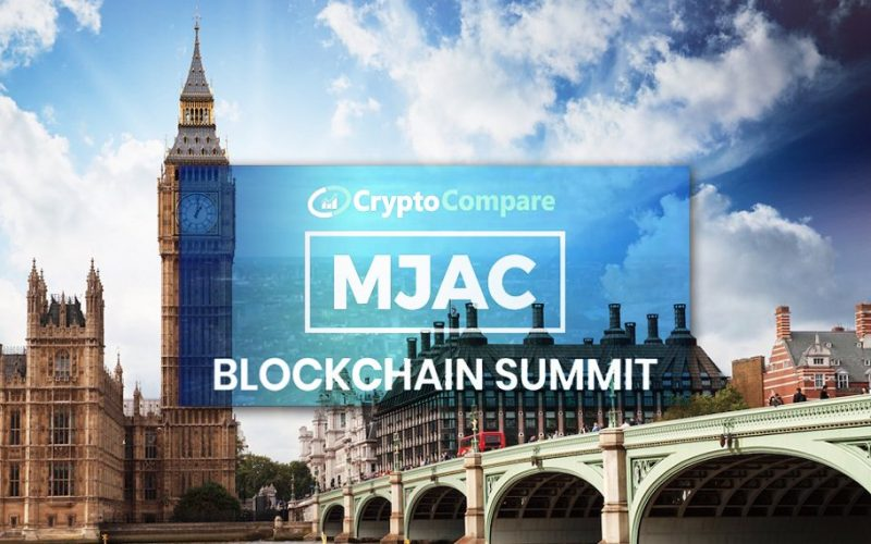 MJAC e CryptoCompare confermano il prossimo London Blockchain Summit