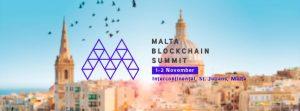 Si avvicina il Malta Blockchain Summit 2018