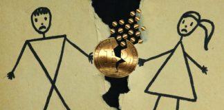 bitcoin divorzio