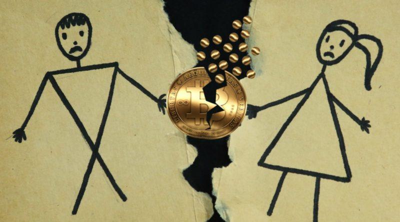 Il divorzio all'italiana nell'era Bitcoin
