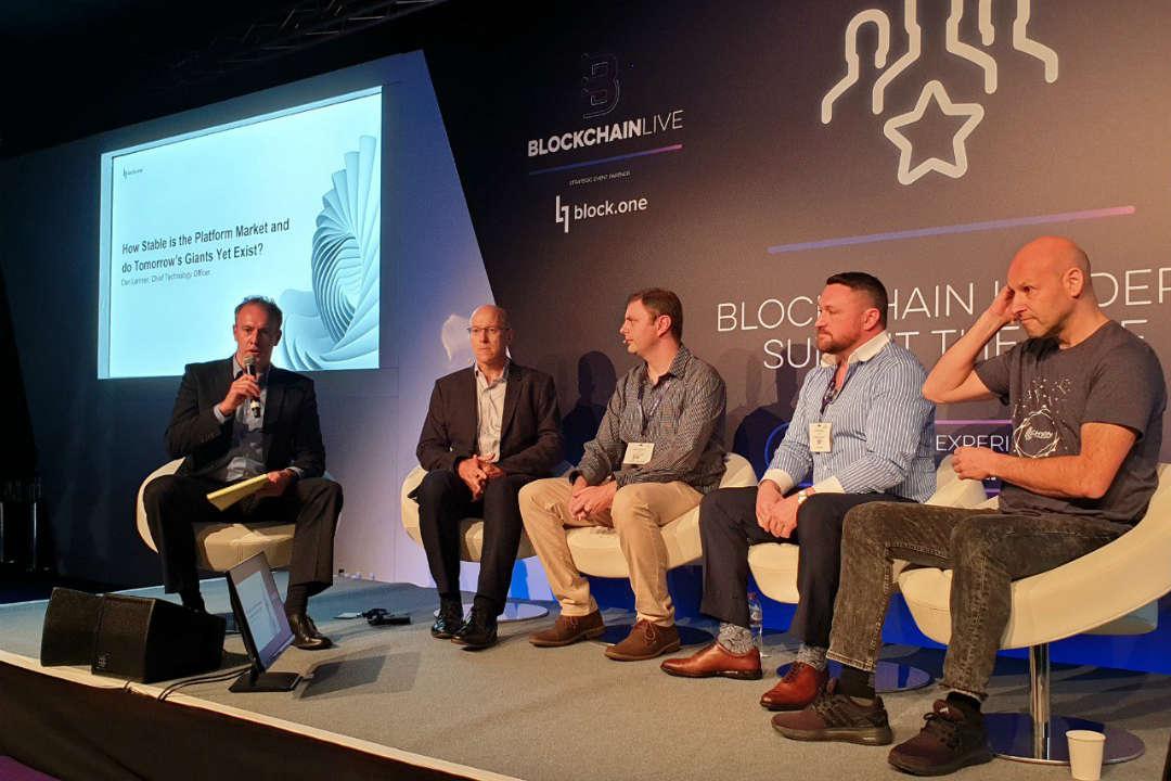 Ripple, EOS e Ethereum insieme in un panel all'evento Blockchain Live