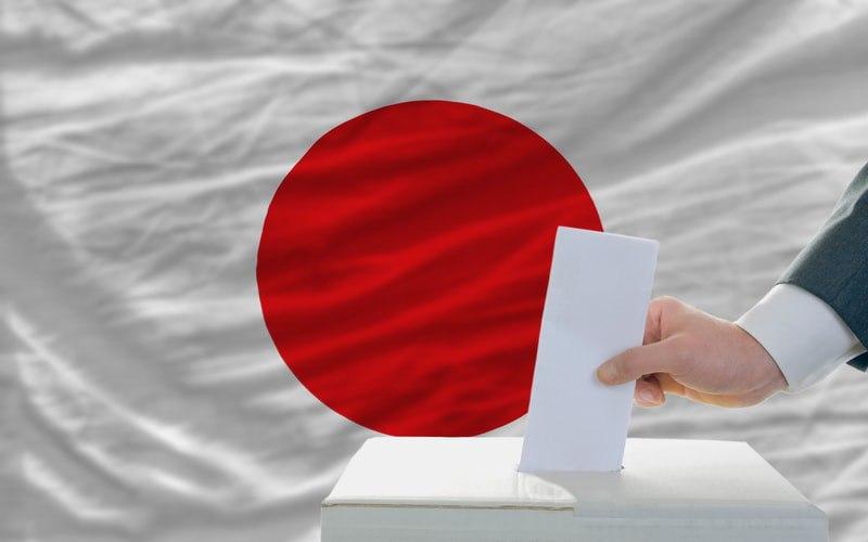 Giappone, la prima votazione su blockchain