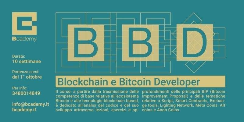 Bcademy, aperta la prima università su Bitcoin