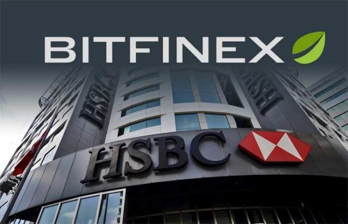 Bitfinex, una partnership con la banca HSBC