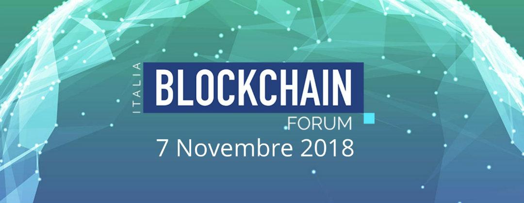 Blockchain Forum Italia programma
