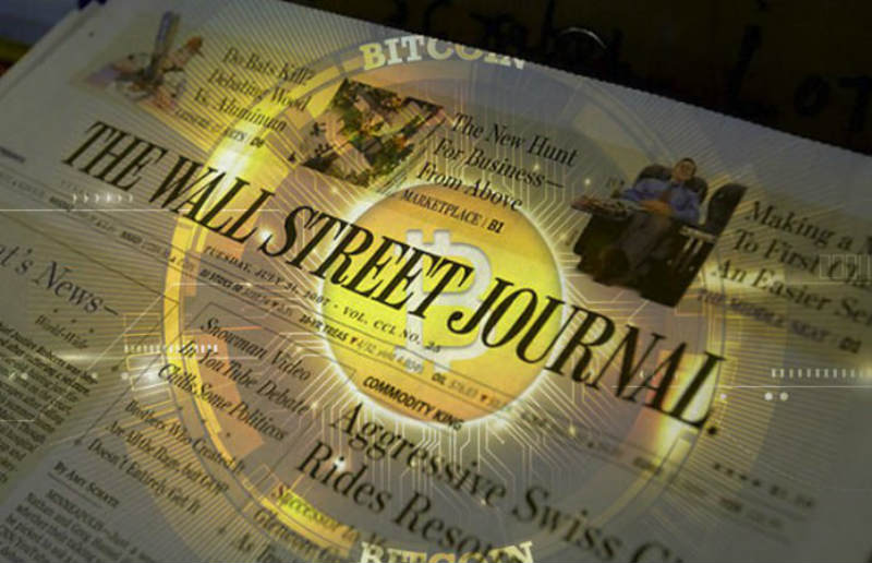 WSJCoin, da oggi il Wall Street Journal ha la sua crypto
