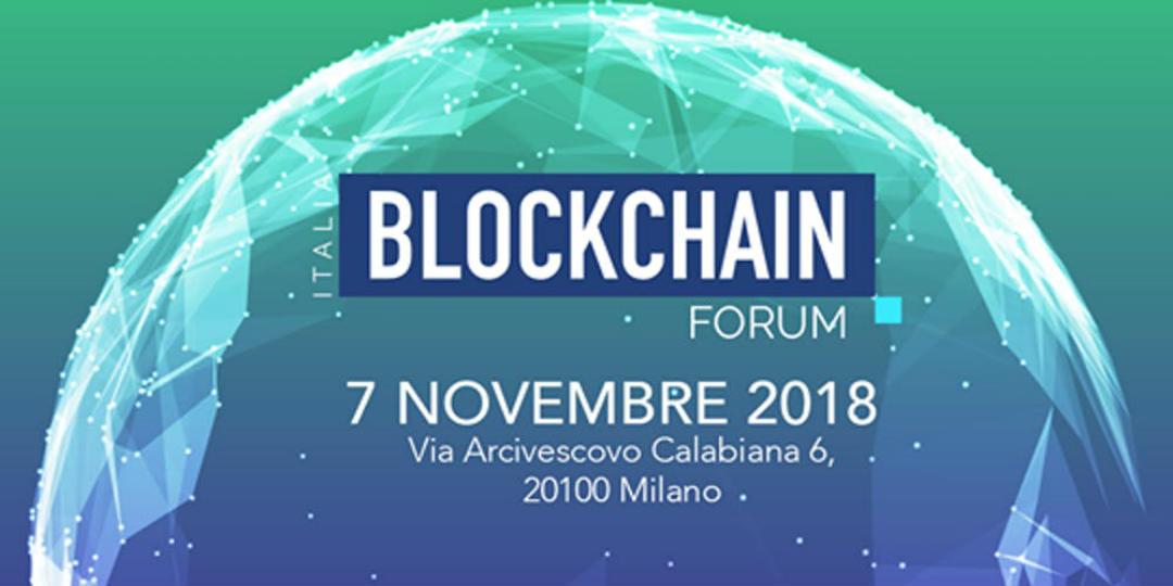 blockchain forum Italia