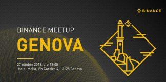 meetup Binance in Italia