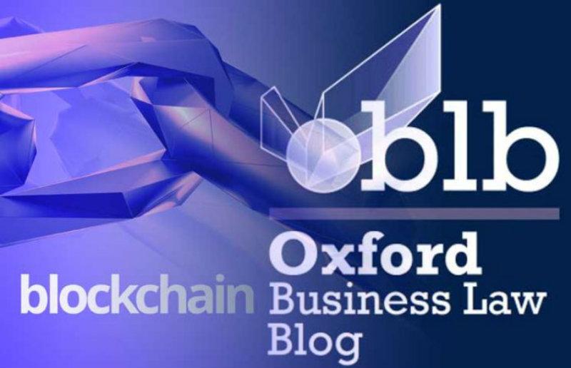 "Oxford, ""Blockchain e legge dovrebbero progredire insieme"""
