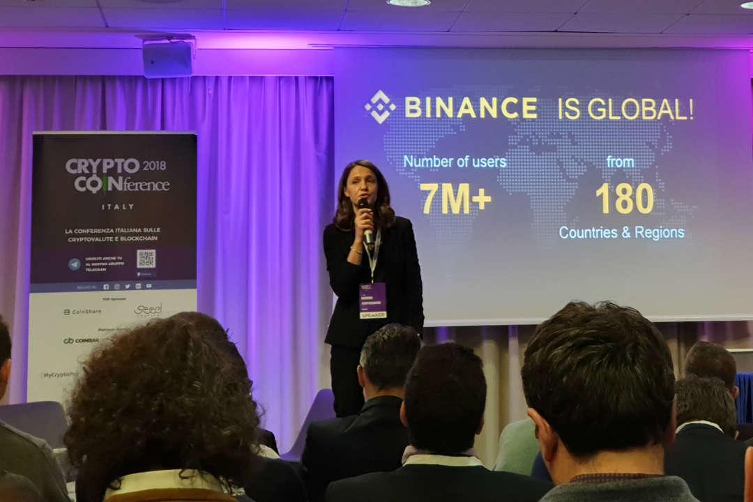L'ecosistema Binance presentato alla Crypto Coinference