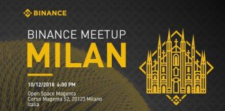 Milano binance meetup
