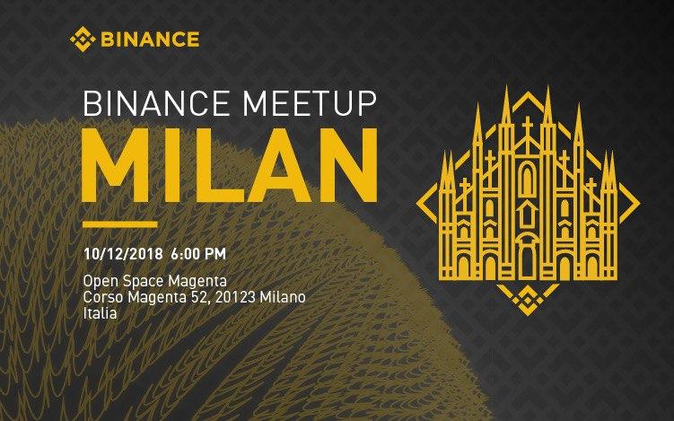 Milano protagonista del nuovo Binance Meetup italiano