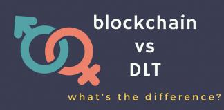 differences blockchain distributed ledger technology DLT
