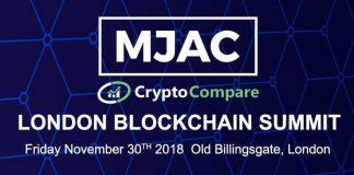 MJAC & CryptoCompare London Blockchain Summit
