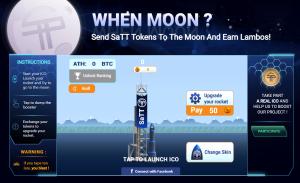 moon game simulates ico