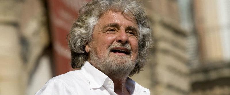 Beppe Grillo e la blockchain contro banche e agenzie di rating