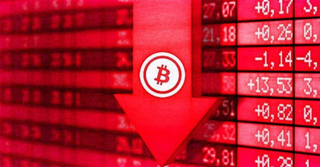 Bitcoin in caduta libera rompe i 5000 dollari
