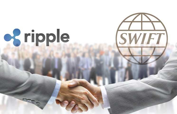 Negata la partnership tra Ripple e Swift