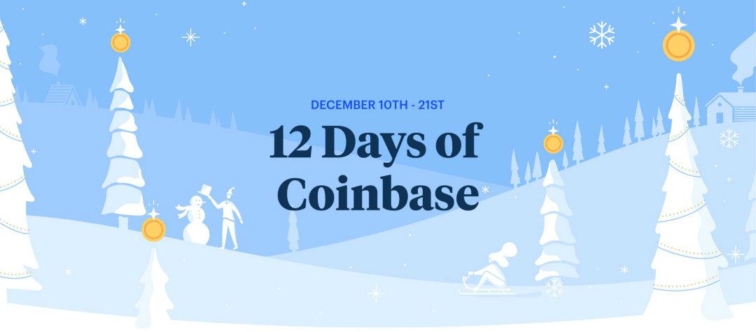 12 Days of Coinbase: il crypto avvento è già iniziato