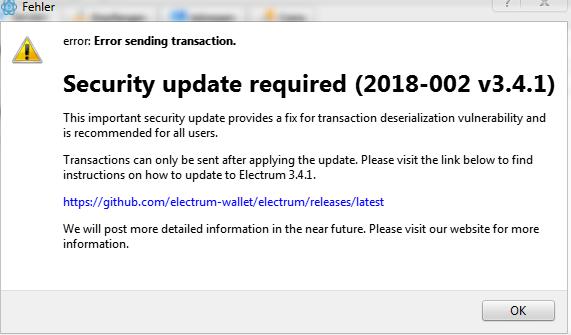 bitcoin phishing wallet Electrum