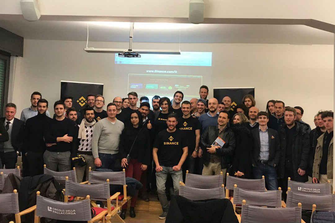 Binance Meetup Milano: gli sviluppi futuri del crypto exchange